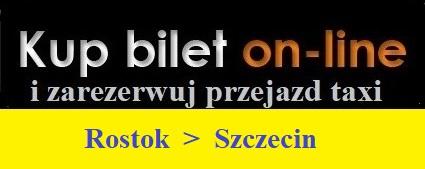 Rostok Szczecin taxi przejazdy do Szczecina